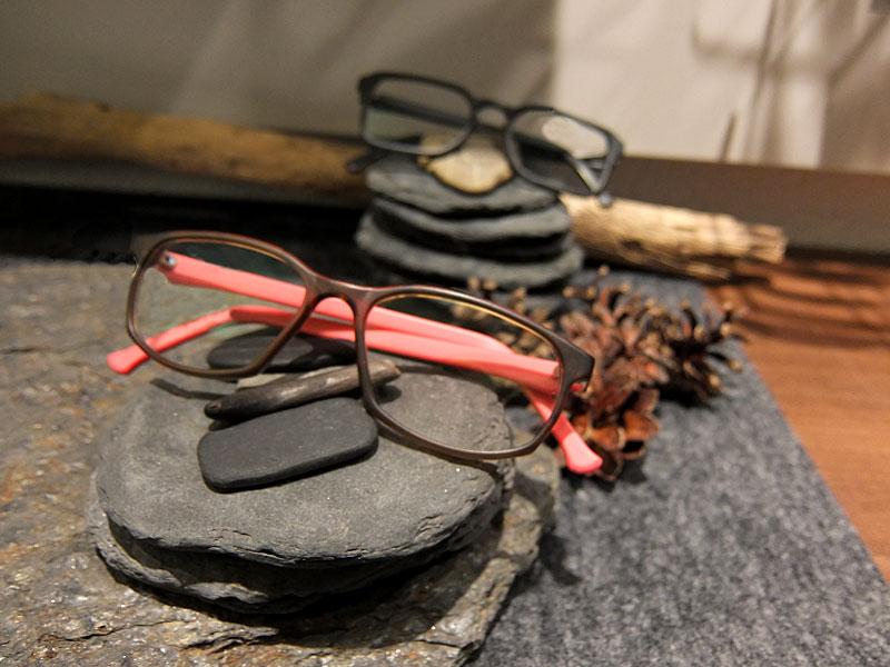 Ausstellung Fassungswerk bei Optik Zuberbühler in Flawil