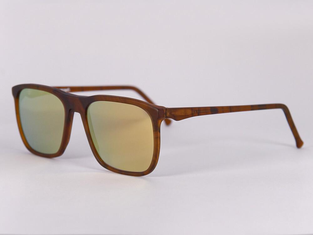 Sonnenbrille - Hammerhai - Gold