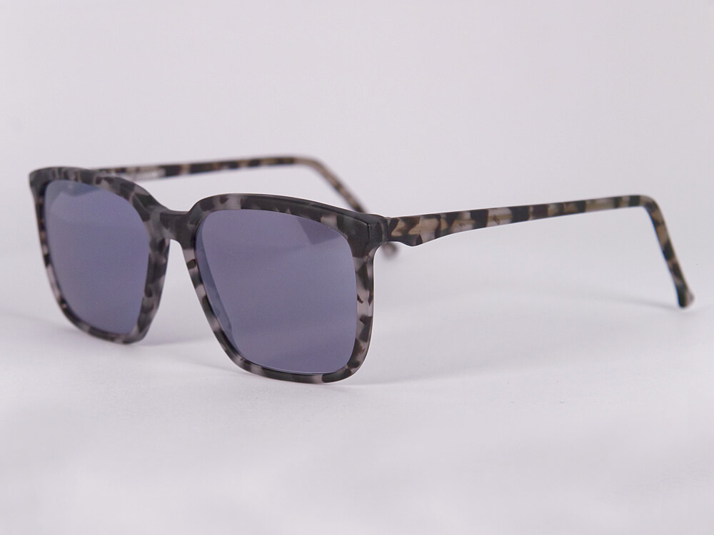 Sonnenbrille - Wollbiene - Silber